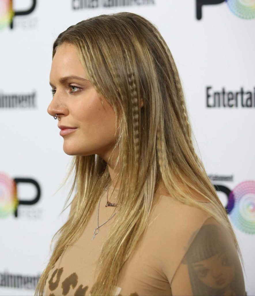 Tove Lo at Entertainment Weekly's PopFest in Los Angeles 10/30/2016-4