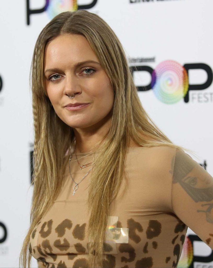 Tove Lo at Entertainment Weekly's PopFest in Los Angeles 10/30/2016-5