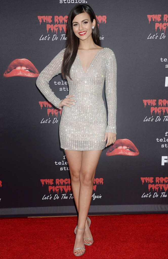 Victoria Justice at The Rocky Horror Picture Show: Let's Do the Time Warp Again Premiere in Los Angeles 10/13/2016-1
