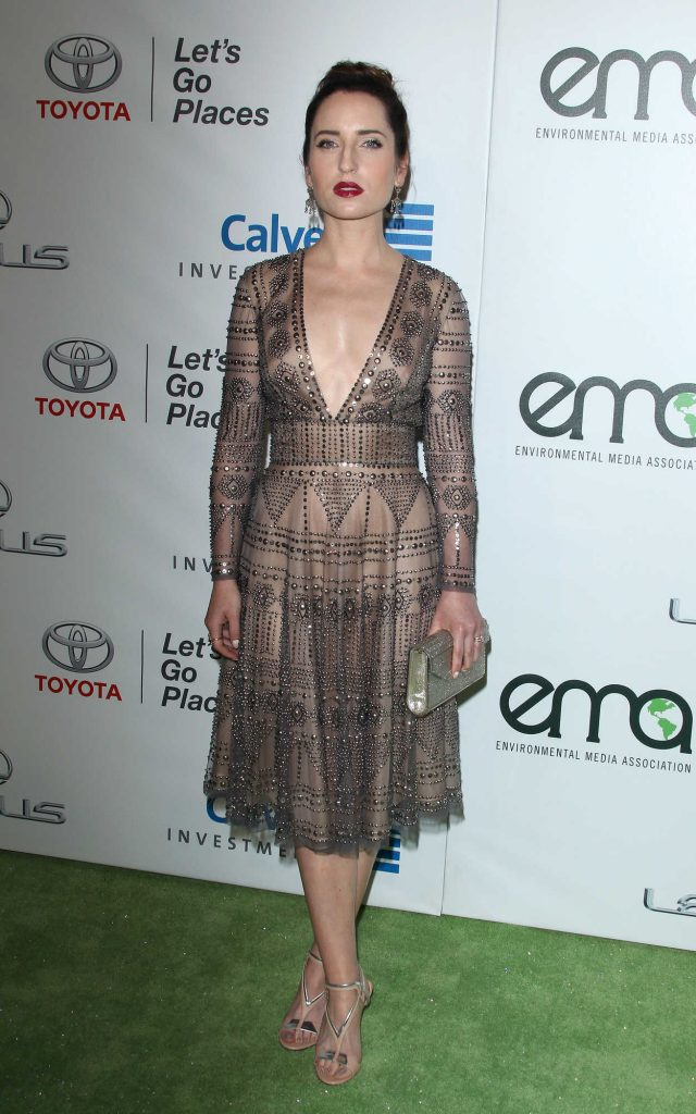 Zoe Lister Jones at the 26th Annual EMA Awards in Burbank 10/22/2016-2