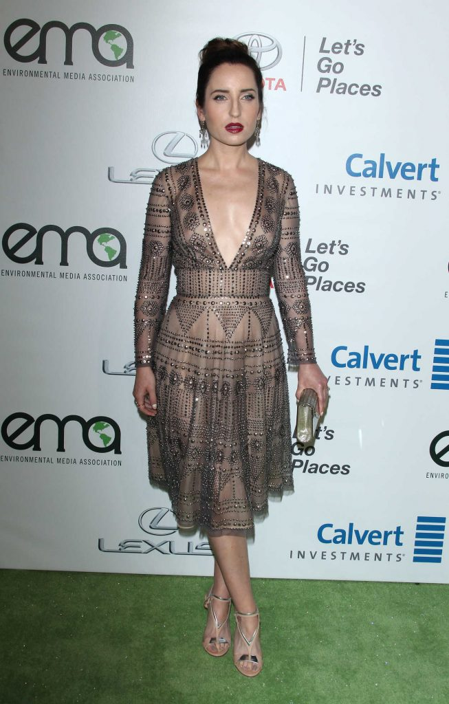 Zoe Lister Jones at the 26th Annual EMA Awards in Burbank 10/22/2016-3