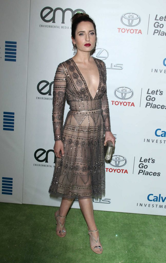 Zoe Lister Jones at the 26th Annual EMA Awards in Burbank 10/22/2016-4