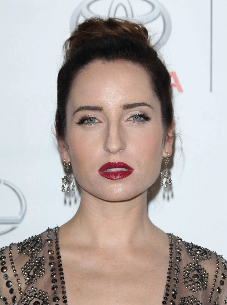 Zoe Lister Jones at the 26th Annual EMA Awards in Burbank 10/22/2016-5
