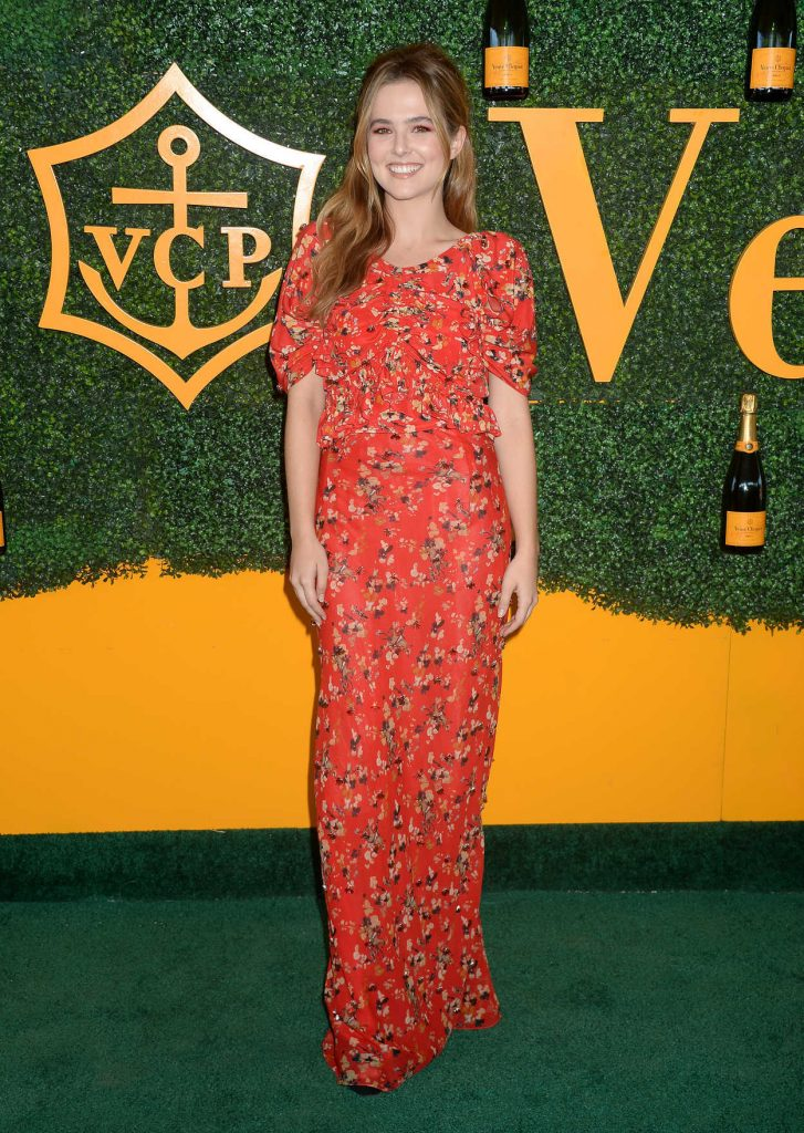 Zoey Deutch at the 7th Annual Veuve Clicquot Polo Classic in Pacific Palisades 10/15/2016-2