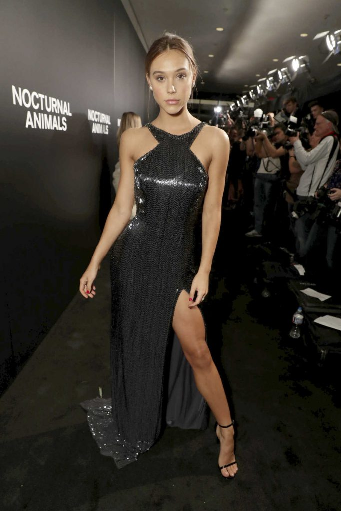 Alexis Ren at the Nocturnal Animals Screening at Hammer Museum in Westwood 11/11/2016-3