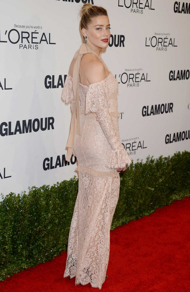Amber Heard at the Glamour Women of The Year Awards in Los Angeles 11/14/2016-2