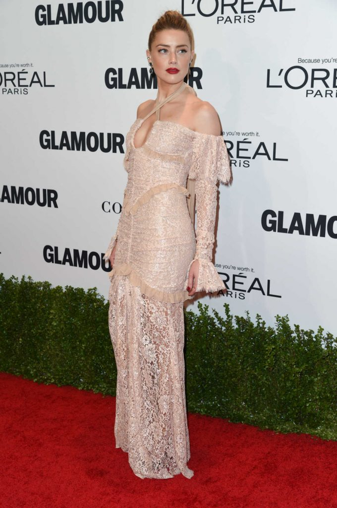 Amber Heard at the Glamour Women of The Year Awards in Los Angeles 11/14/2016-4