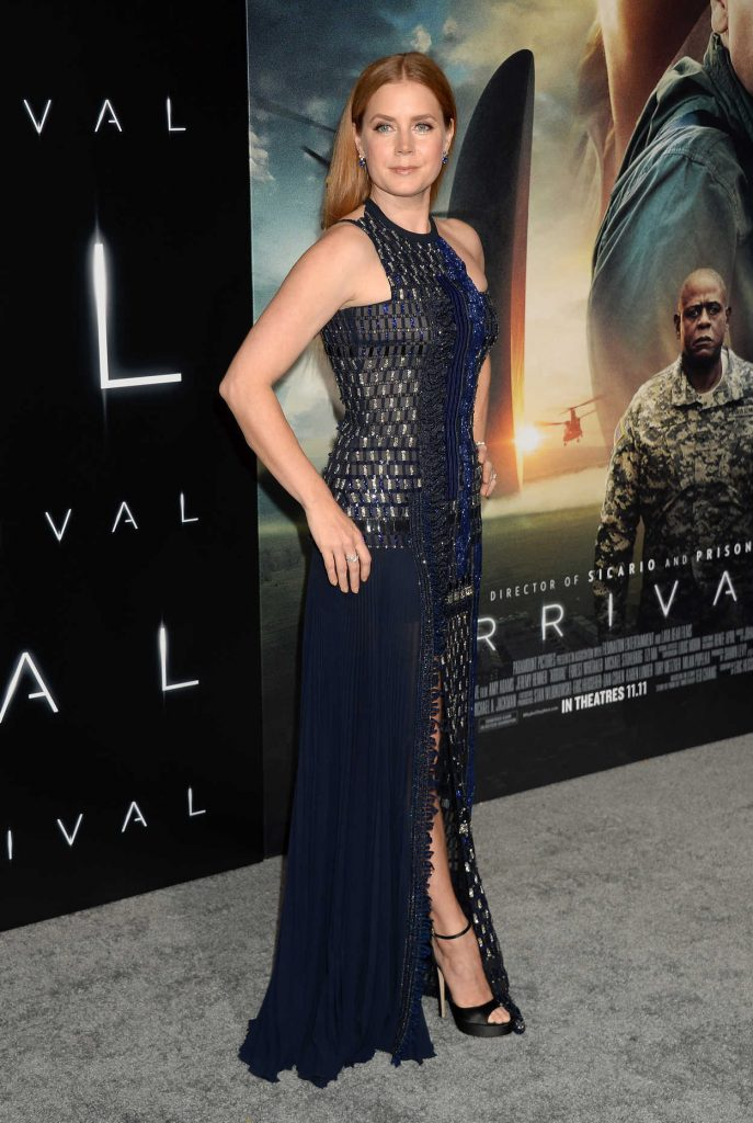 Amy Adams at Arrival Premiere in Westwood 11/06/2016-3