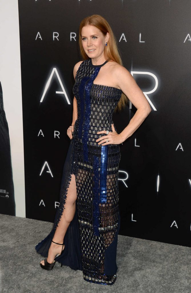 Amy Adams at Arrival Premiere in Westwood 11/06/2016-4