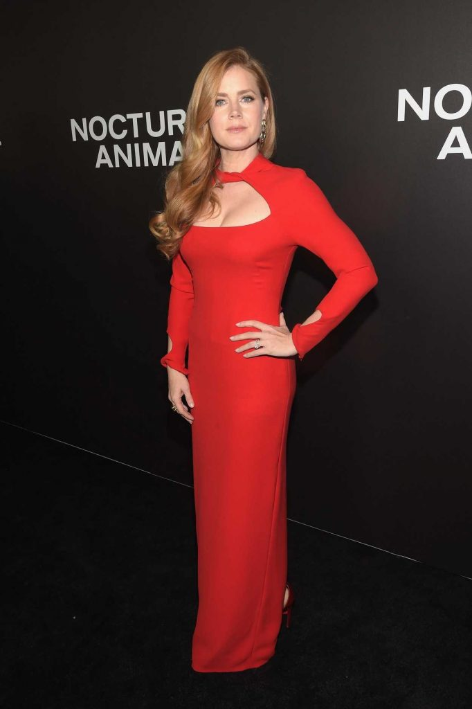 Amy Adams at the Nocturnal Animals Premiere in New York 11/17/2016-1