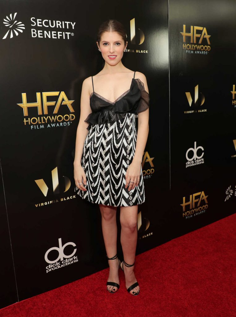 Anna Kendrick at the 20th Annual Hollywood Film Awards in Los Angeles 11/06/2016-1