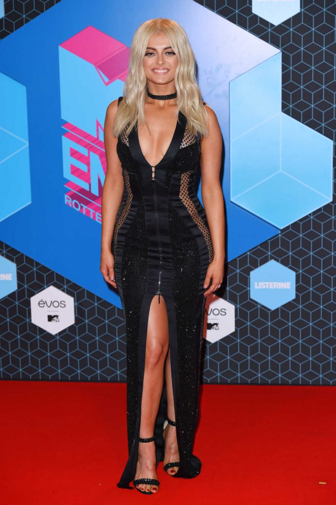 Bebe Rexha at the MTV Europe Music Awards in Rotterdam 11/06/2016-1
