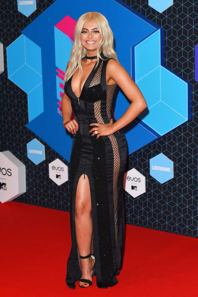 Bebe Rexha at the MTV Europe Music Awards in Rotterdam 11/06/2016-2