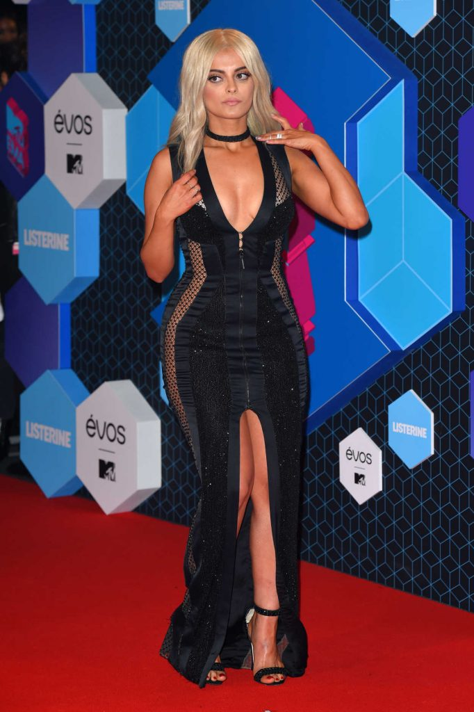 Bebe Rexha at the MTV Europe Music Awards in Rotterdam 11/06/2016-3