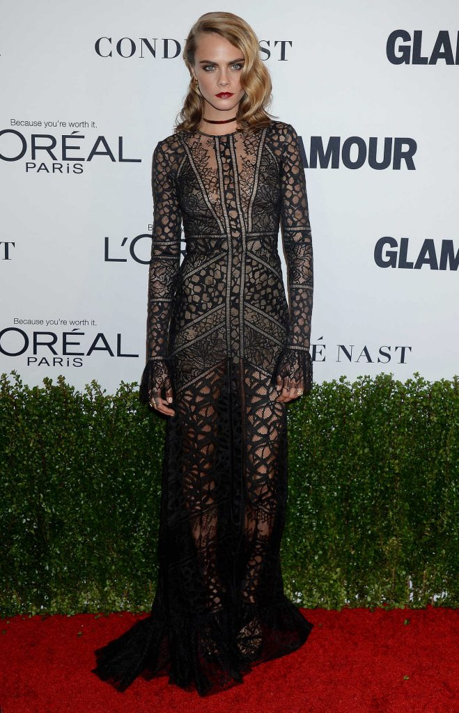 Cara Delevingne at the Glamour Women of The Year Awards in Los Angeles 11/14/2016-1