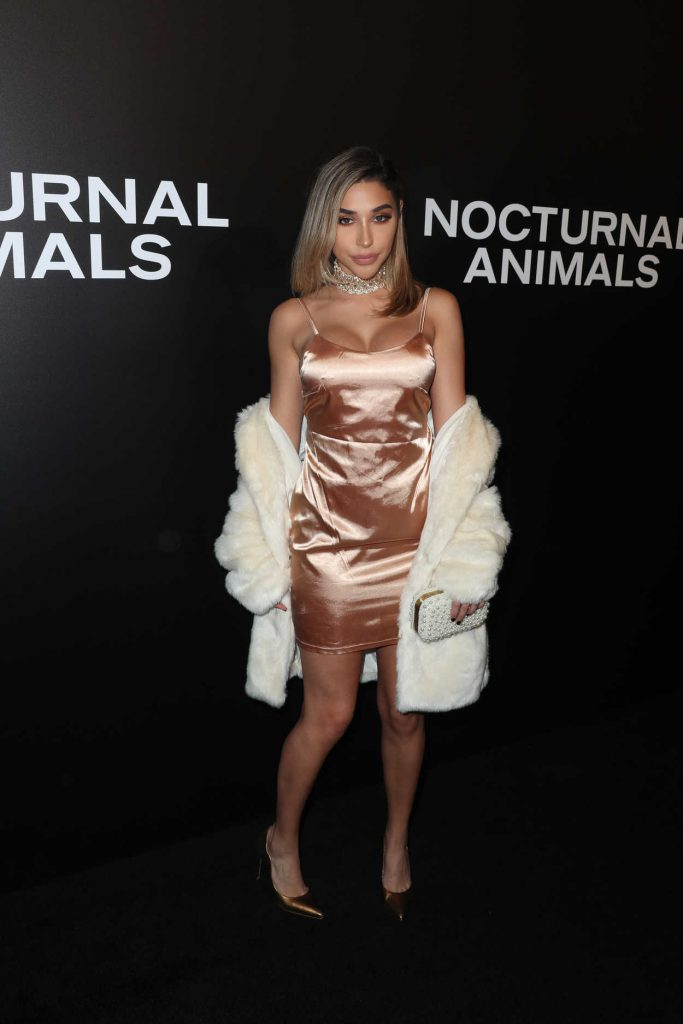 Chantel Jeffries at the Nocturnal Animals Screening at Hammer Museum in Westwood 11/11/2016-1