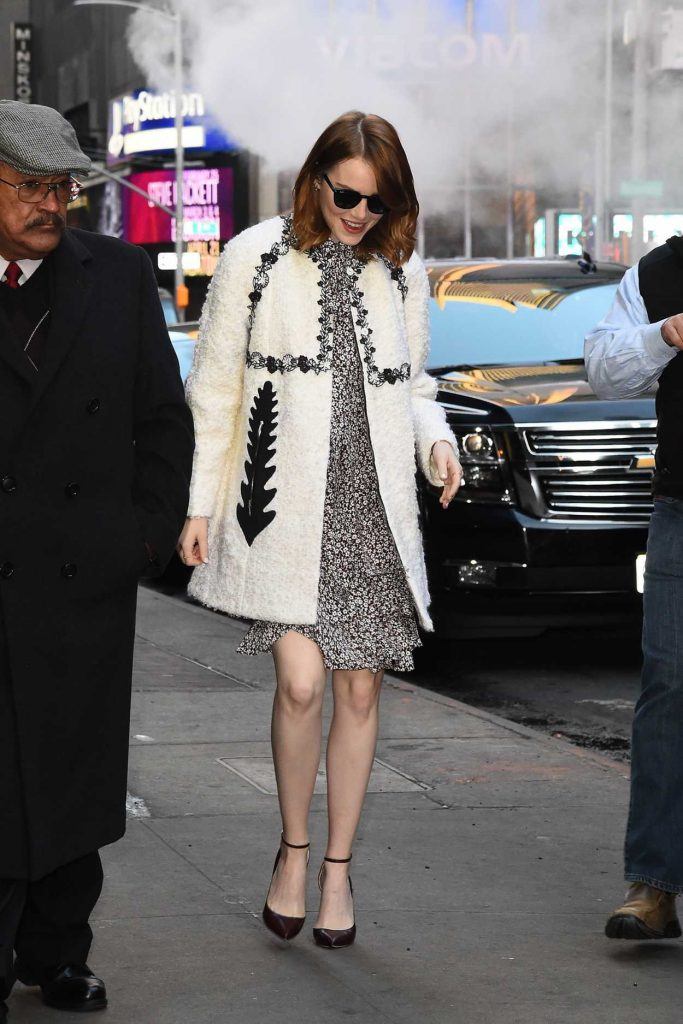 Emma Stone Arrives at Good Morning America in New York 11/27/2016-2