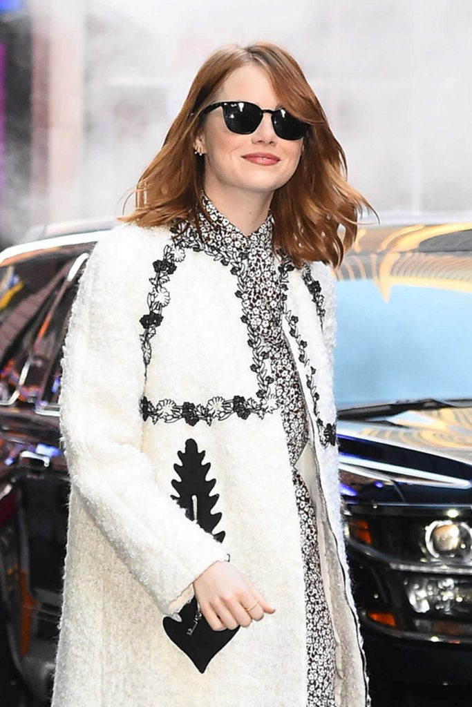 Emma Stone Arrives at Good Morning America in New York 11/27/2016-5