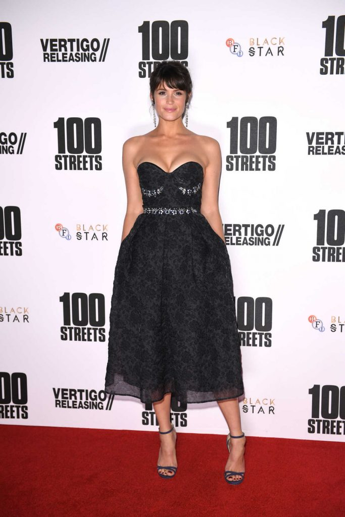 Gemma Arterton at the 100 Streets Premiere in London 11/08/2016-1