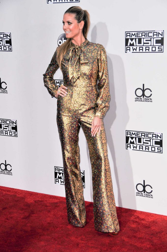Heidi Klum at the 2016 American Music Awards at the Microsoft Theater in Los Angeles 11/20/2016-2