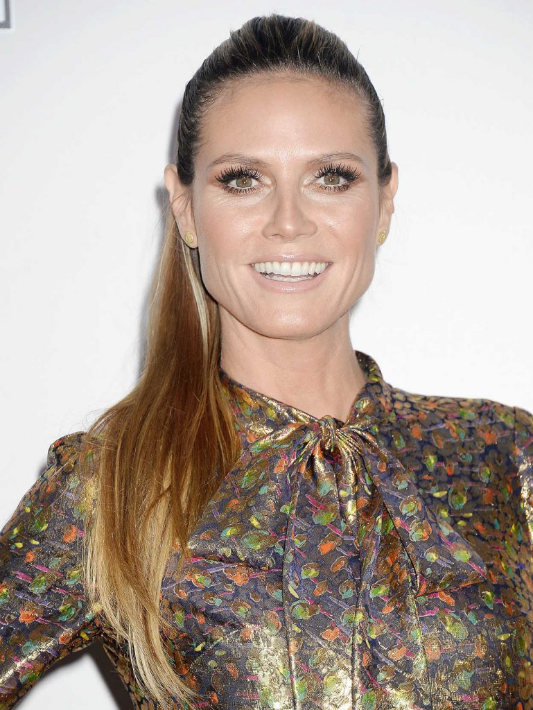 Heidi Klum at the 2016 American Music Awards at the Microsoft Theater in Los Angeles 11/20/2016-4