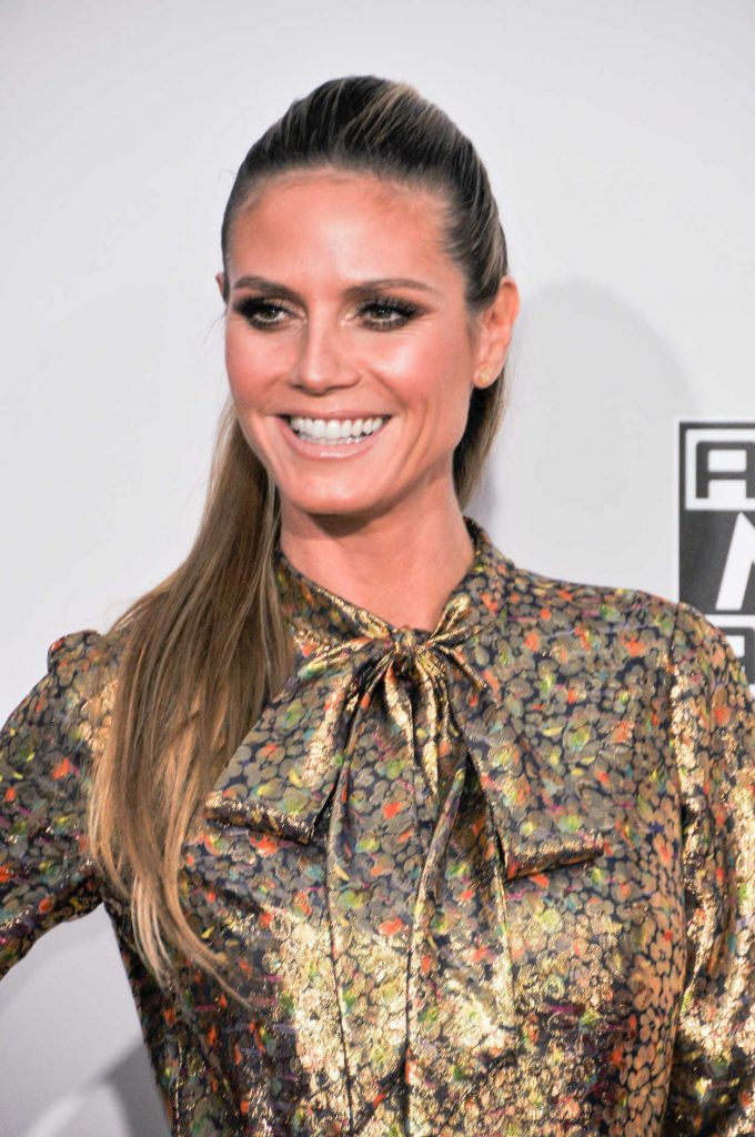 Heidi Klum at the 2016 American Music Awards at the Microsoft Theater in Los Angeles 11/20/2016-5
