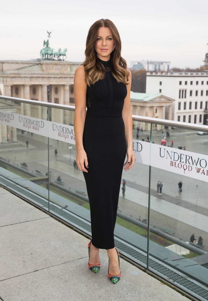 Kate Beckinsale at Underworld: Blood Wars Photocall in Berlin 11/22/2016-1