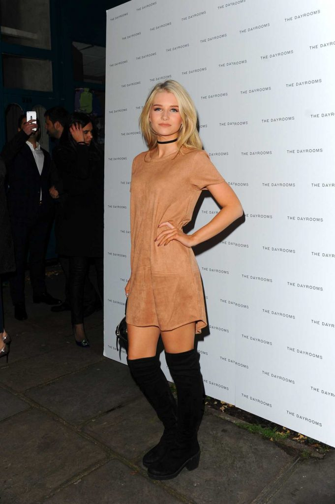 Lottie Moss at the Dayrooms Store Opening Party in London 11/23/2016-1