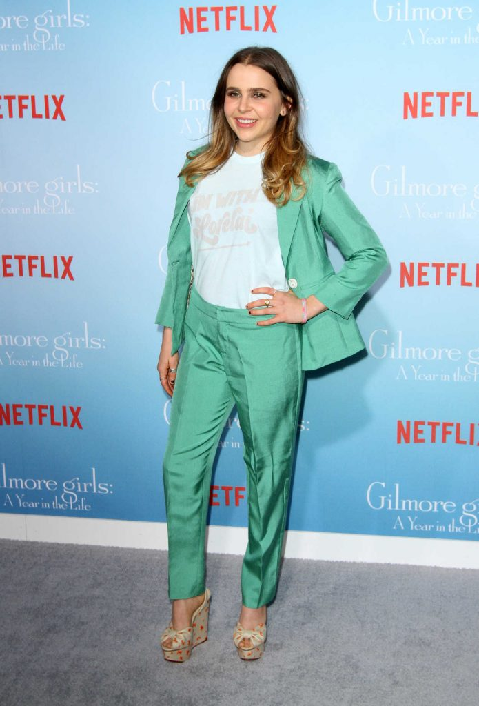 Mae Whitman at the Gilmore Girls: A Year in the Life TV Series Premiere in Los Angeles 11/18/2016-2