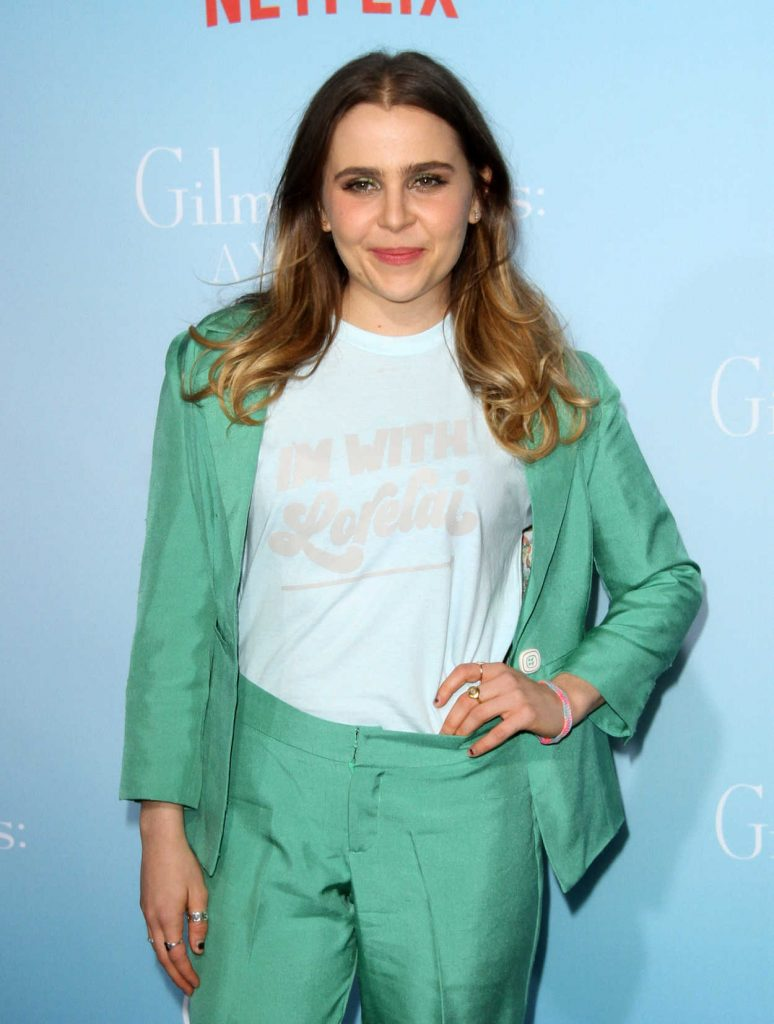 Mae Whitman at the Gilmore Girls: A Year in the Life TV Series Premiere in Los Angeles 11/18/2016-4