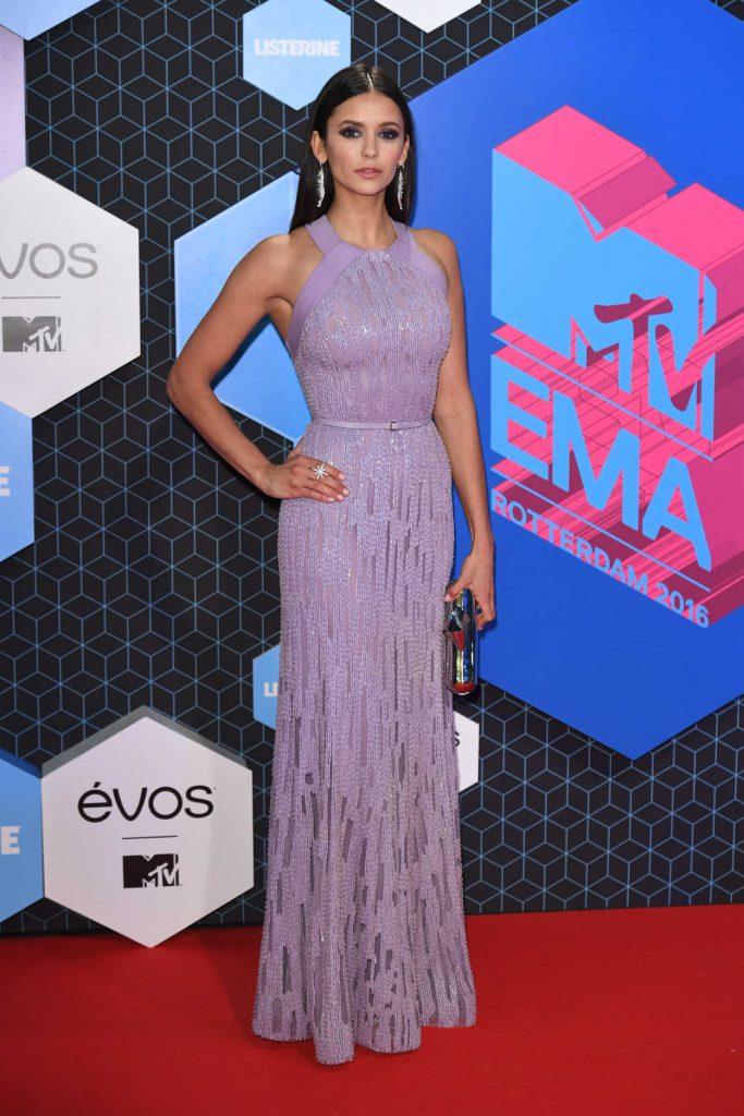 Nina Dobrev at the 20th Annual Hollywood Film Awards in Los Angeles 11/06/2016-1