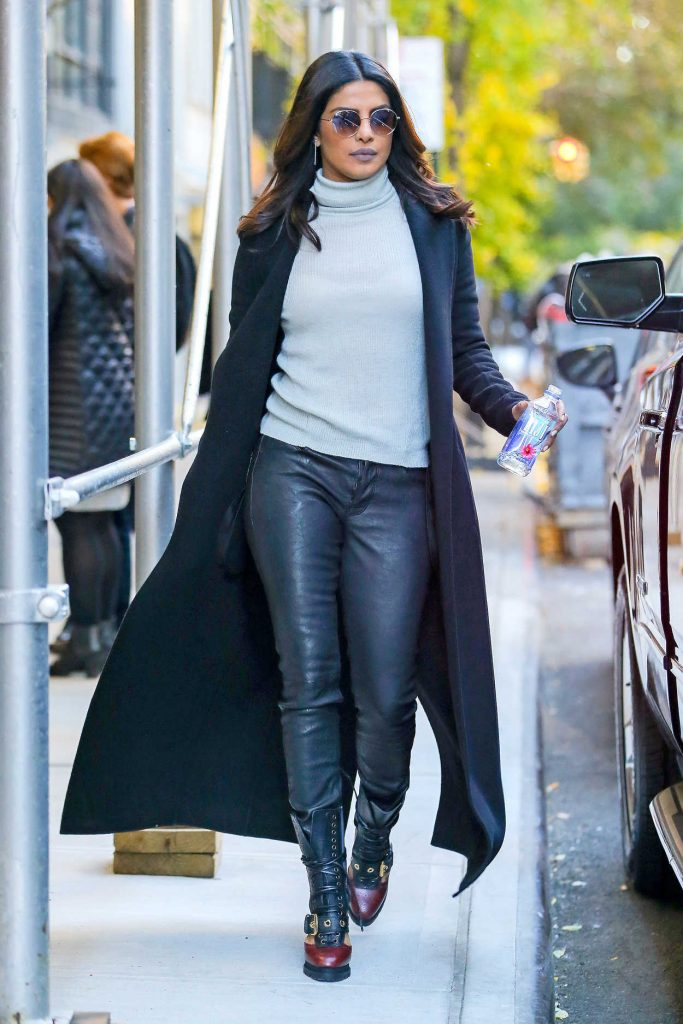 Priyanka Chopra Leaves the BUZZFEED Studios in New York City 11/12/2016-2
