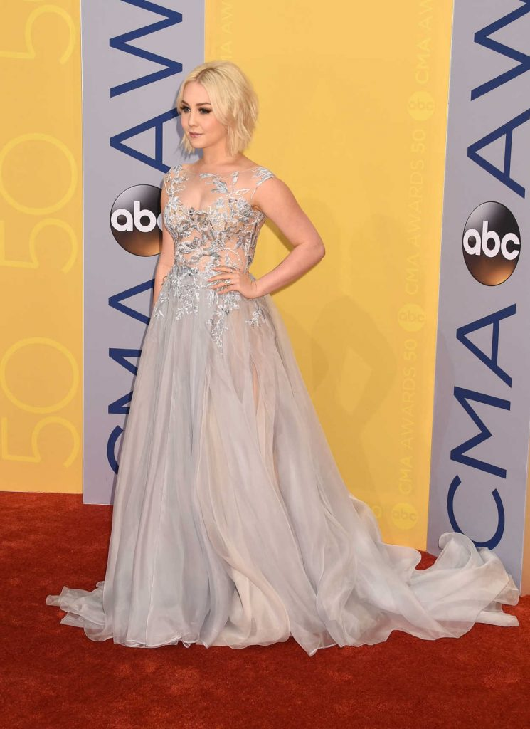 RaeLynn at the 50th Annual CMA Awards at Music City Center in Nashville 10/29/2016-2