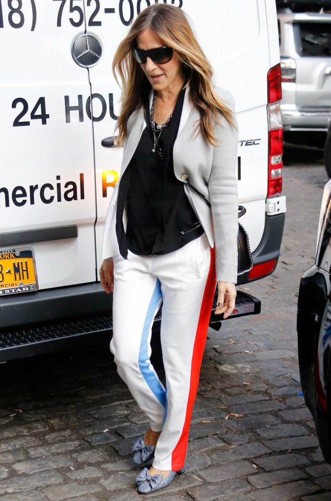 Sarah Jessica Parker Arrives at the Bloomingdales Store in New York 11/22/2016-1
