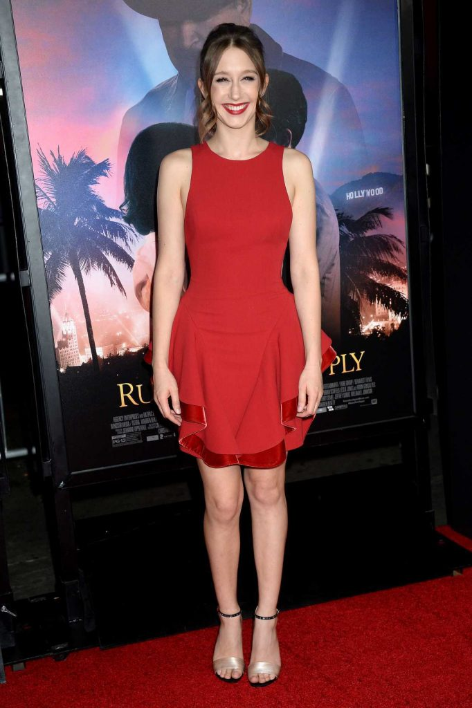 Taissa Farmiga at the Rules Don't Apply Premiere in Los Angeles 11/10/2016-1