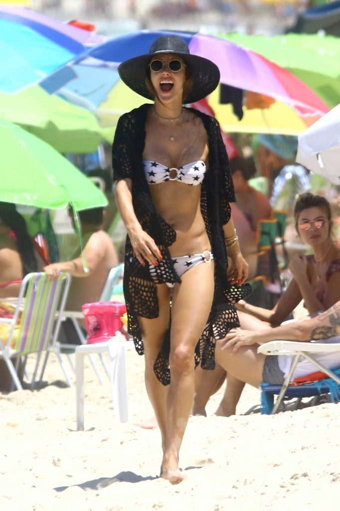 Alessandra Ambrosio in Bikini at the Beact in Florianopolis 12/30/2016-1