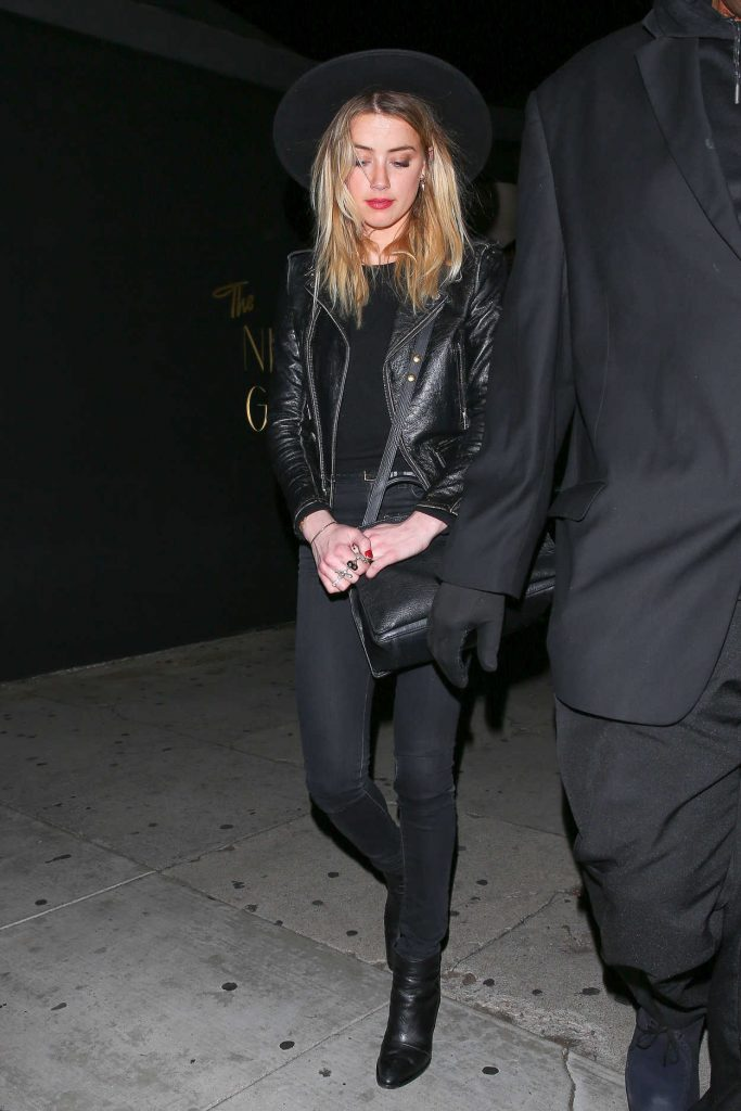 Amber Heard Leaves Rihanna's Christmas Party at the Nice Guy Nightclub in West Hollywood 12/19/2016-4