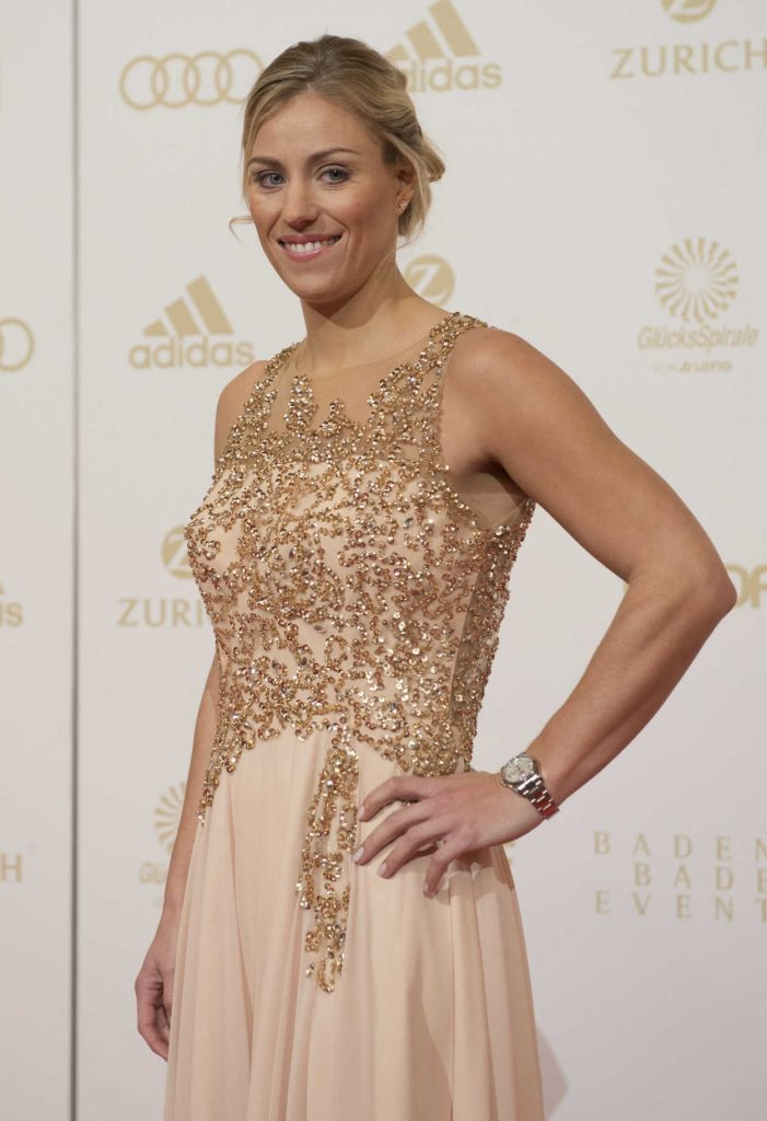 Angelique Kerber at the Sportsman of the Year 2016 Event in Baden-Baden 12/18/2016-4