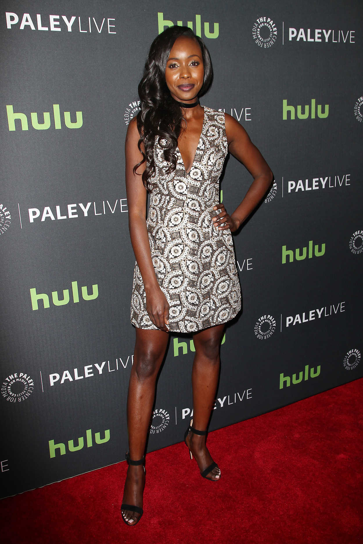 Anna Diop at the PaleyLive NY Presents 24: Legacy in New York 12/19 ... Lax