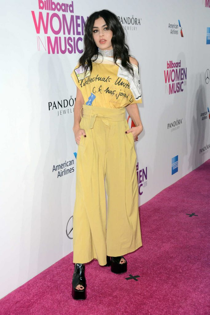 Charli XCX at the Billboard Women in Music 2016 Event at Pier 36 in NYC 12/09/2016-1