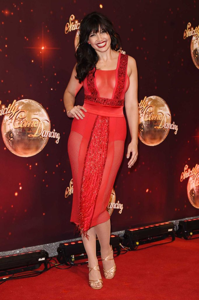 Daisy Lowe at the Strictly Come Dancing Launch in London 11/30/2016-1
