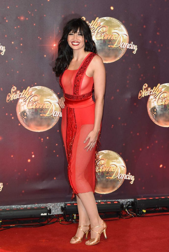 Daisy Lowe at the Strictly Come Dancing Launch in London 11/30/2016-2