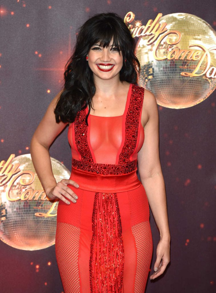 Daisy Lowe at the Strictly Come Dancing Launch in London 11/30/2016-5
