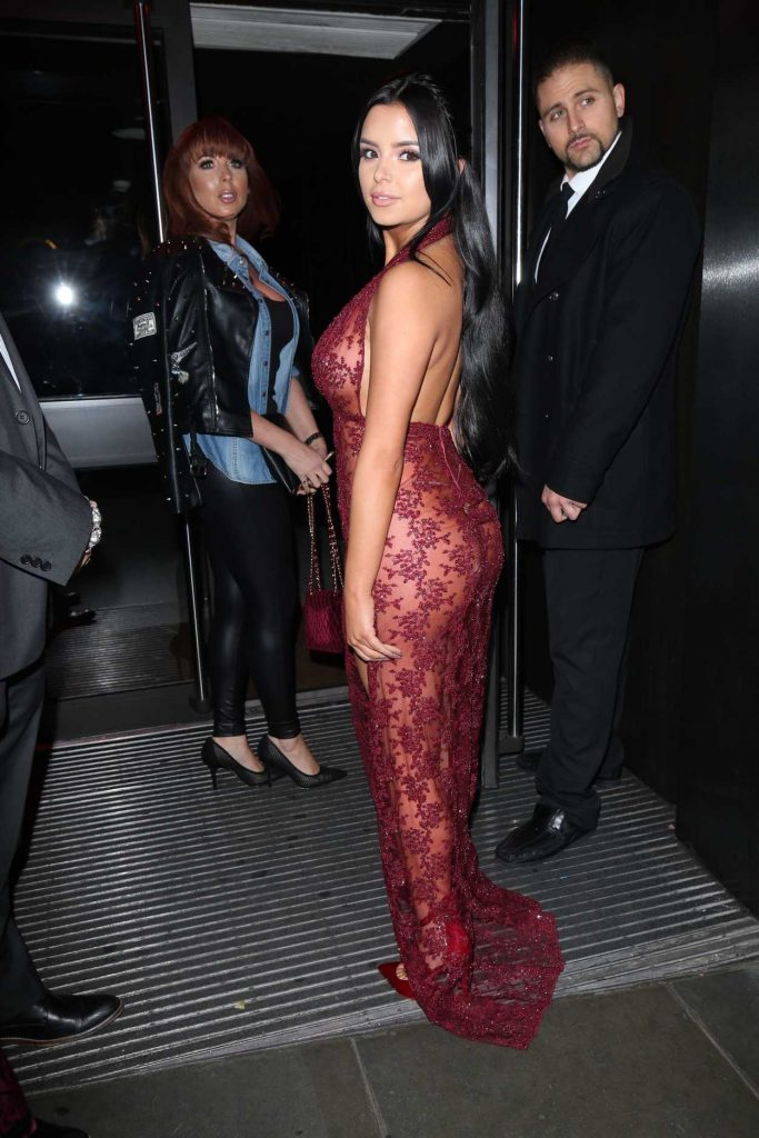 Demi Rose at the Sixty6 Magazine Launch Party in London 12/07/2016-5