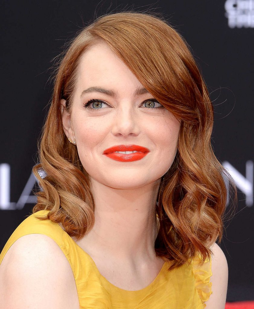 Emma Stone at the La La Land Hand and Footprint Ceremony in Los Angeles 12/07/2016-1