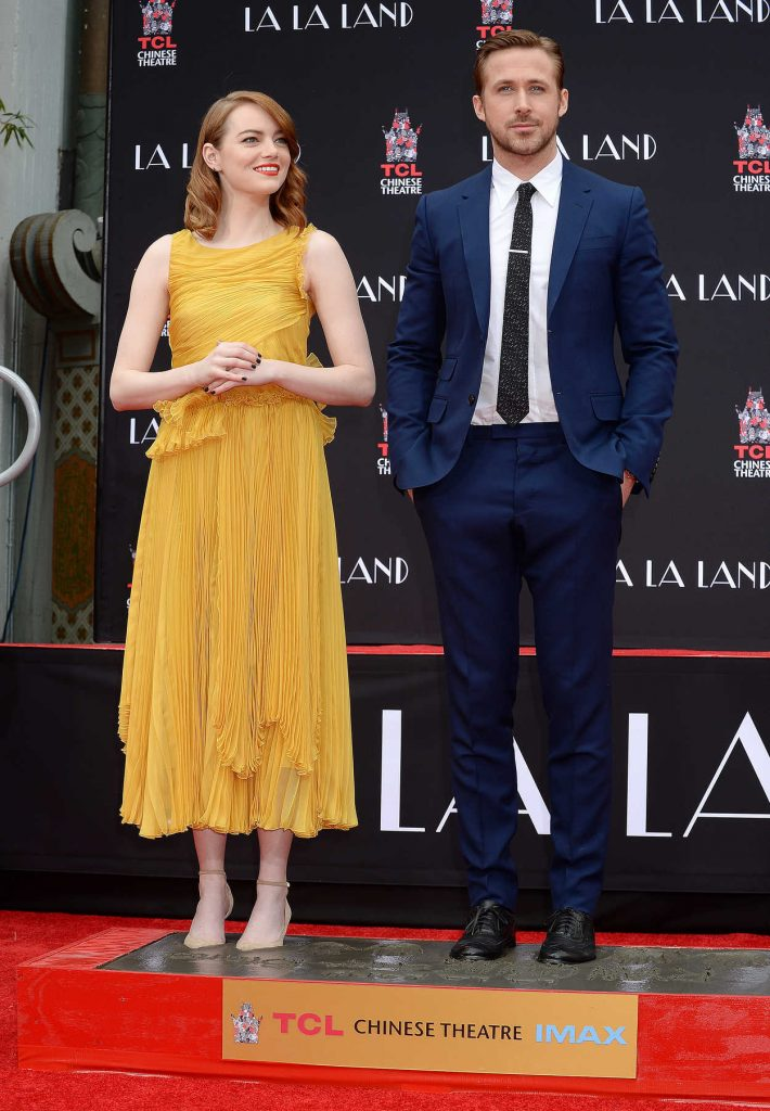 Emma Stone at the La La Land Hand and Footprint Ceremony in Los Angeles 12/07/2016-4