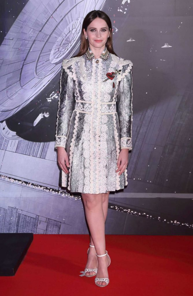 Felicity Jones at the Rogue One: A Star Wars Story Fan Event in Tokyo 12/08/2016-1