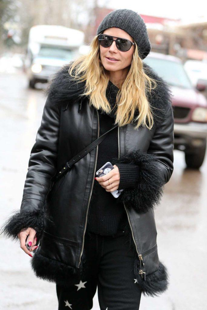 Heidi Klum Goes Shopping in Aspen 12/22/2016-1