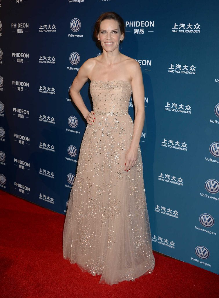 Hilary Swank at the 2016 Huading Global Film Awards at Ace Hotel Theatre in Los Angeles 12/15/2016-1