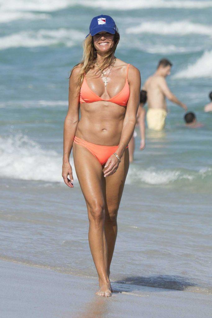 Kelly Bensimon in Bikini at the Beach in Miami 12/25/2016-1